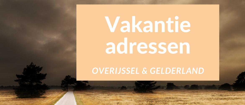 Leuke vakantie adressen in Nederland voor wielrenners