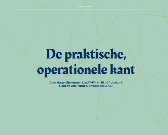 KSF HR-handboek   H2: 'De praktische, operationele kant'