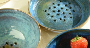 vergietjes uit keramiek