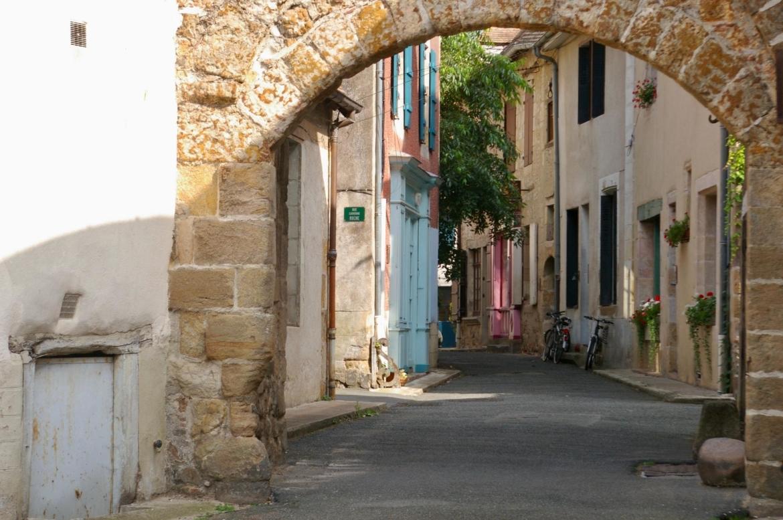 Ruine van Herisson Frankrijk
