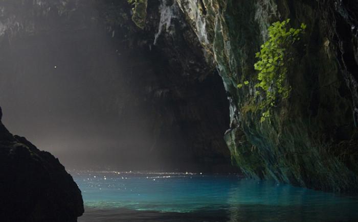 Melissani grot op Kefalonia