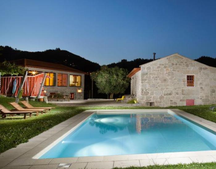 Vakantiehuis met zwembad in Portugal