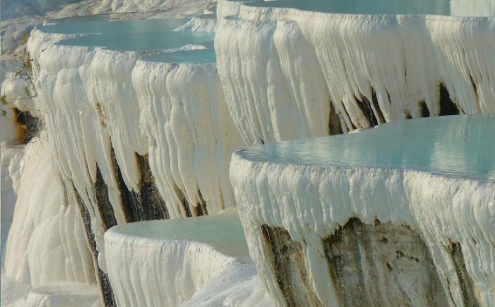 Kalksteenterrassen van Pamukkale