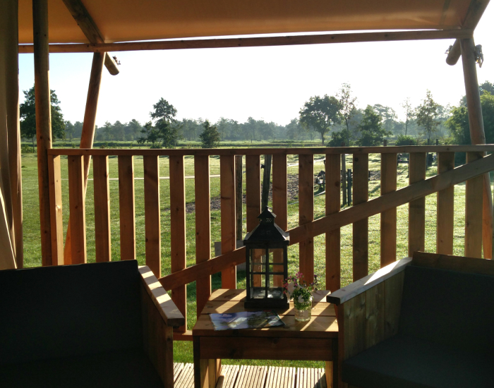 Luxe glamping in Friesland