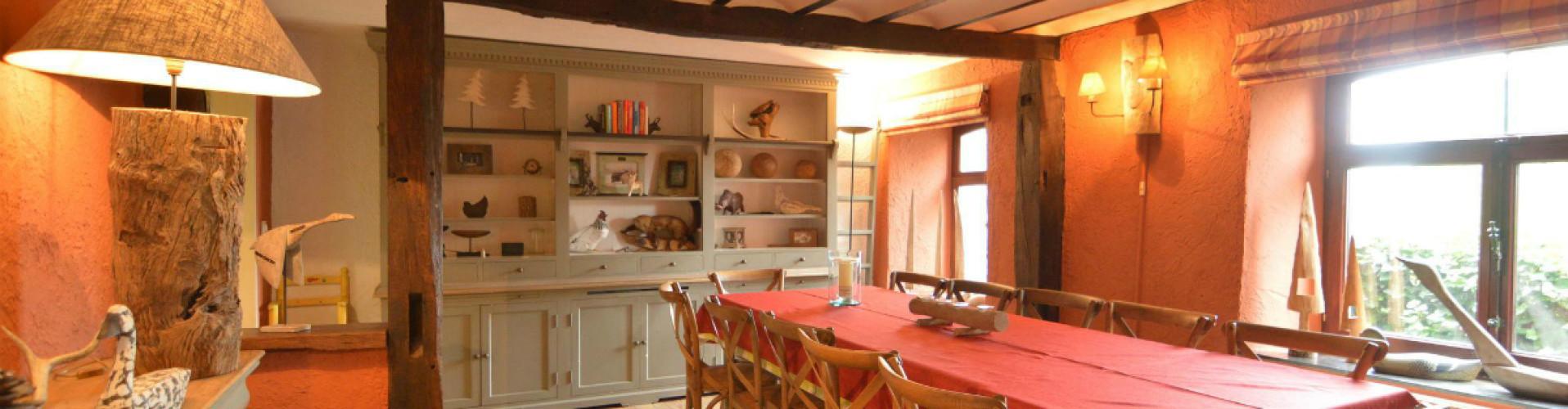 Groot vakantiehuis in de Ardennen met gezin