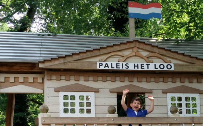 Speeltuin in Gelderland met kinderen