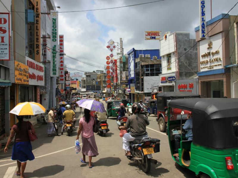 Negombo met kinderen