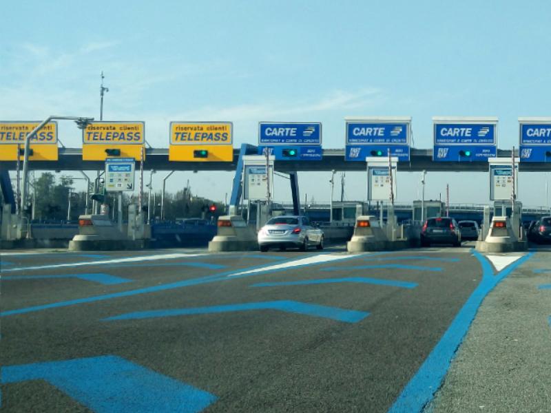 Rijden naar Italië, over tolwegen en vignetten