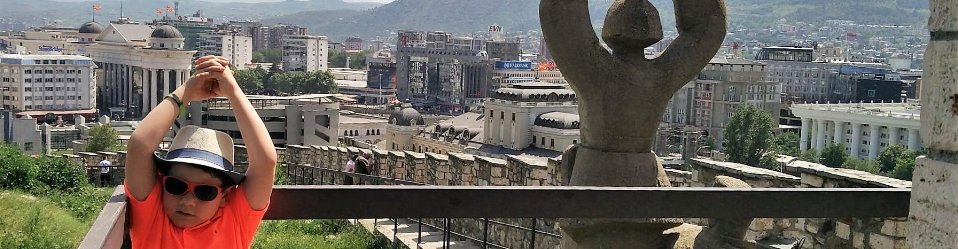 Skopje met kinderen, tips en bezienswaardigheden