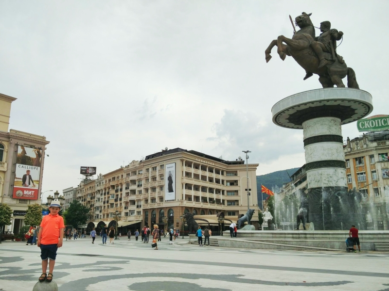 Stedentrip Skopje met kinderen