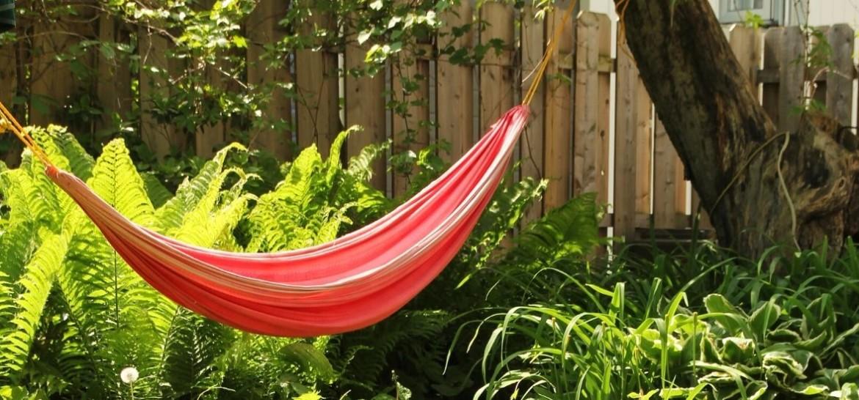 Leuke hangmat voor in de tuin