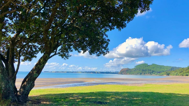 Whatipu Beach Nieuw-Zeeland met kinderen