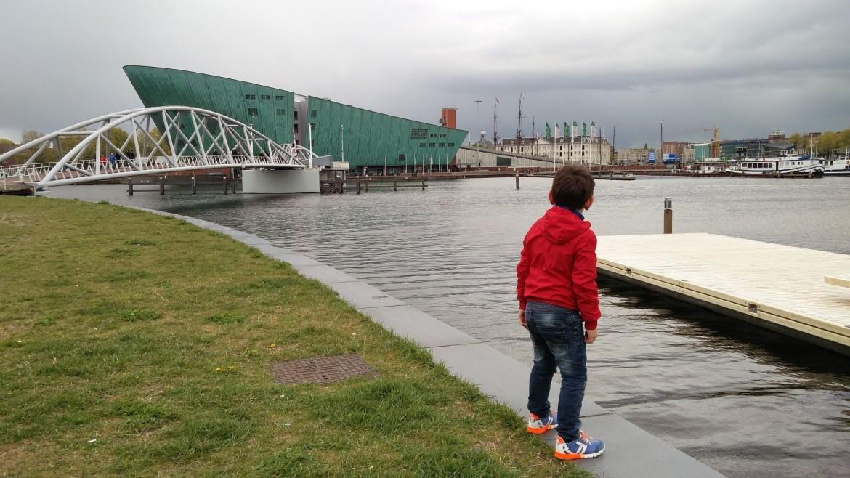 NEMO Amsterdam met kinderen