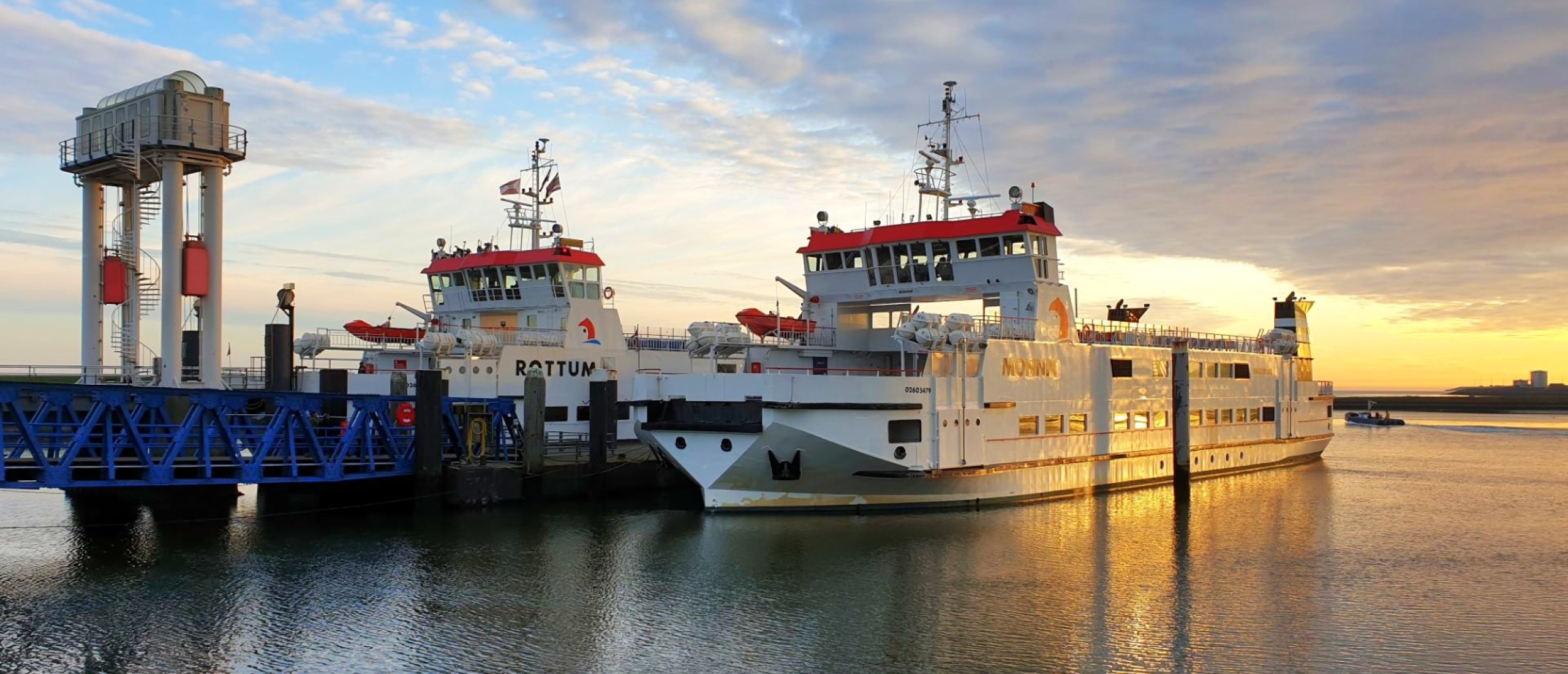Met de veerboot naar Schiermonnikoog
