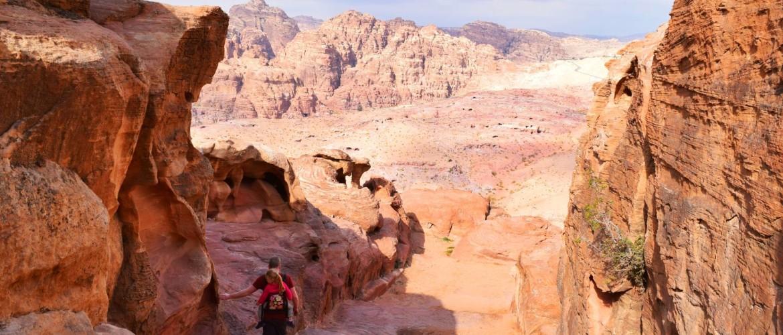 Magische Jordanië ontdekken met peuter