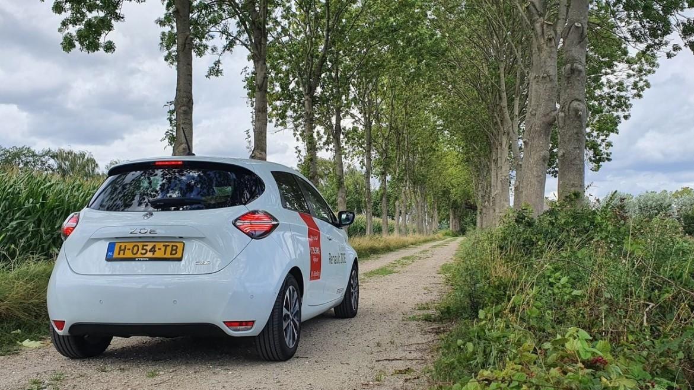 Testrijden in Renault ZOE
