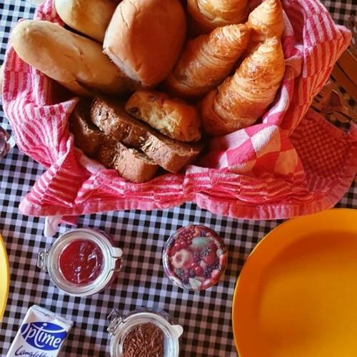 Ontbijt bij FarmCamps