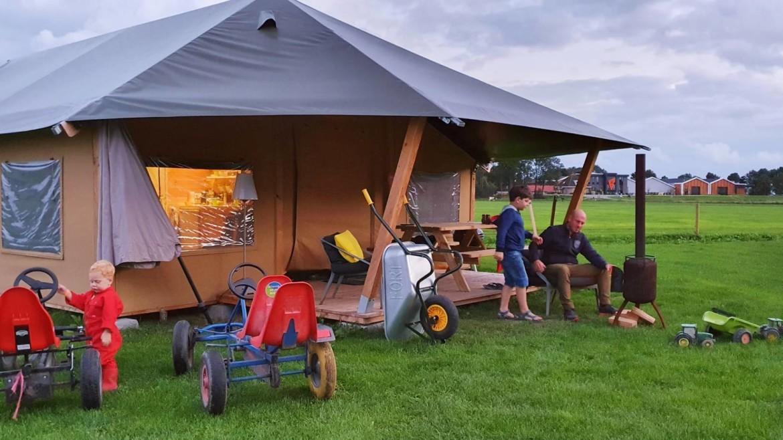 Barn tent FarmCamps