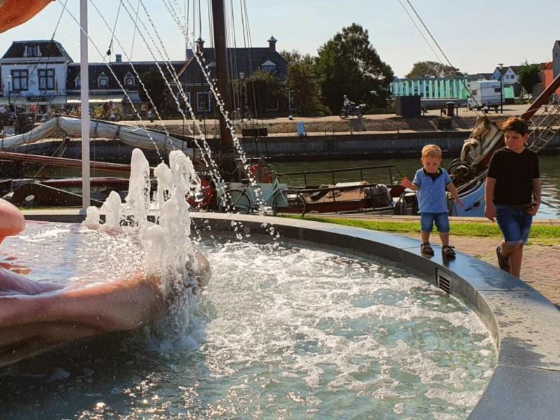 Stavoren Friesland met kinderen
