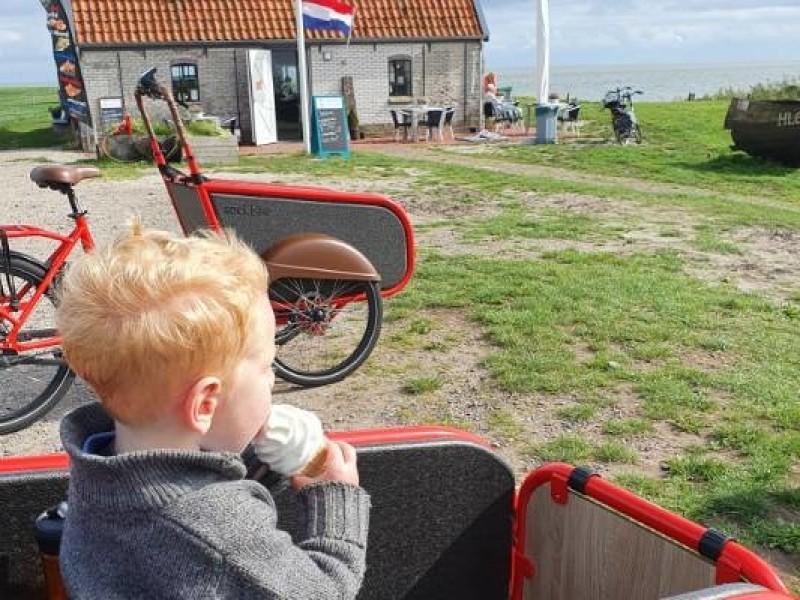 Fietsen in Friesland met kinderen