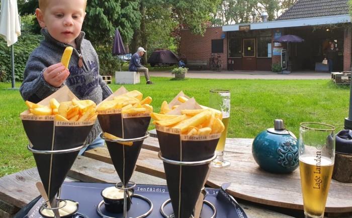 Friese frietjes, Pake's patat