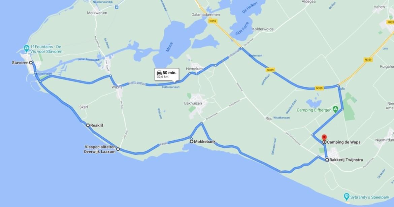 Leuke autoroute in Zuidwest Friesland