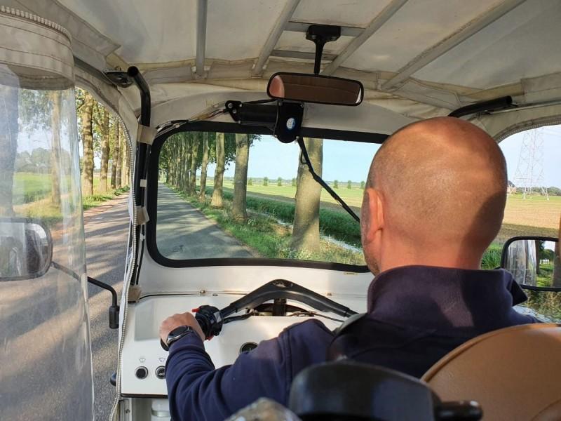 Tuk tuk rijden in Gelderland