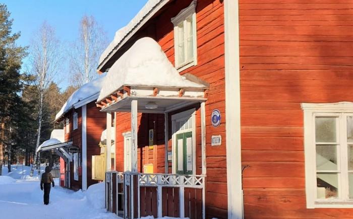 Lycksele in Zweeds Lapland