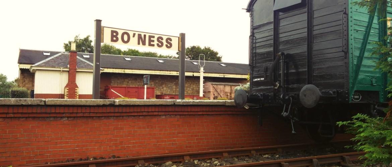 Bo'ness & Kinneil Railway, op bezoek bij Thomas en Percy