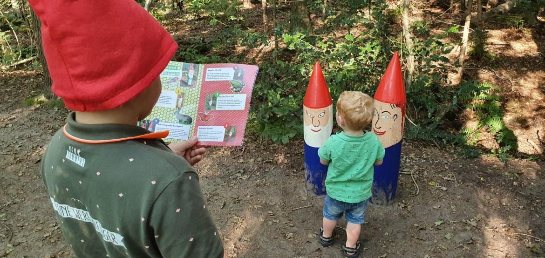 Kabouterpad Zuidwest Friesland met kinderen
