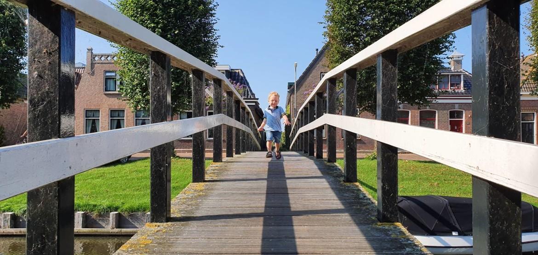 Waterland van Friesland met kinderen