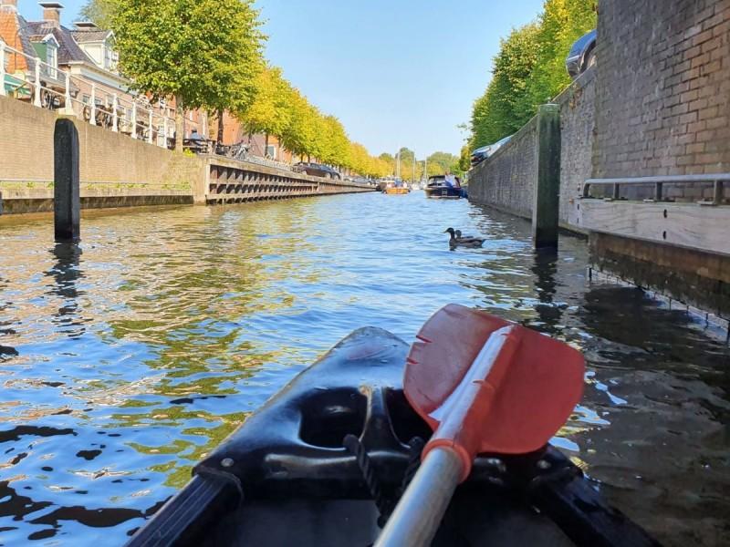 Kanoën in Zuidwest Friesland