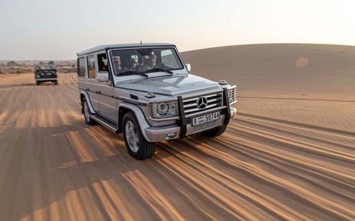Ras Al-Khaimah woestijn met kinderen
