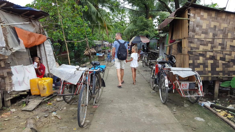 De armoede in Dalah is goed zichtbaar en schrijnend
