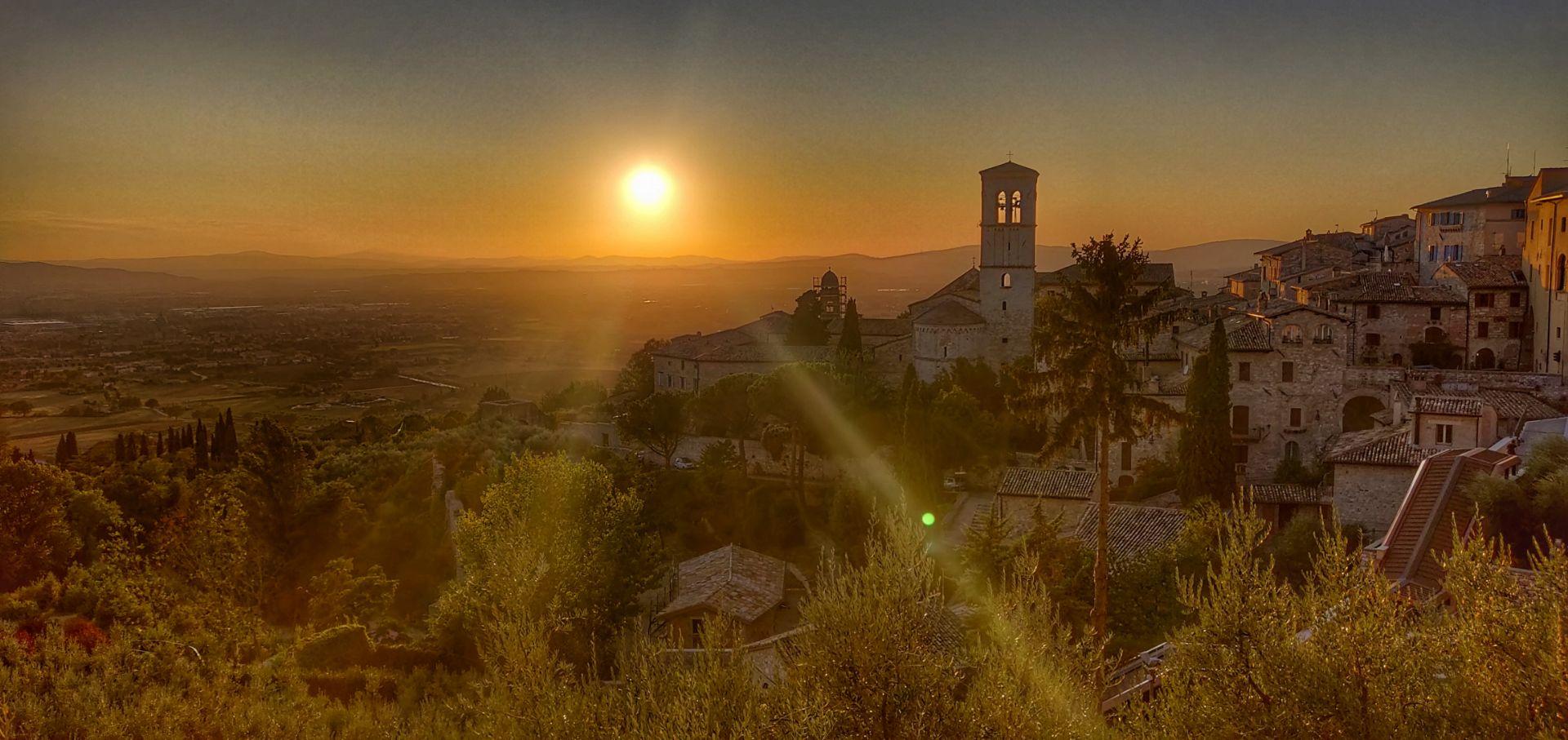 Assisi met kinderen bezoeken
