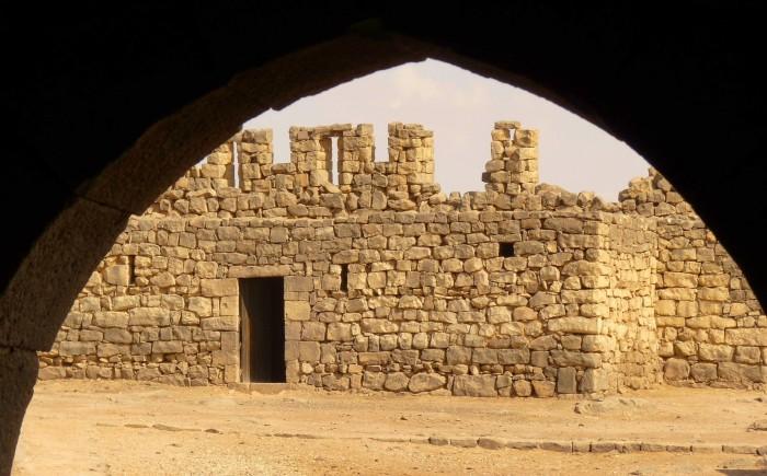 Azraq Reservaat met kinderen in Jordanie