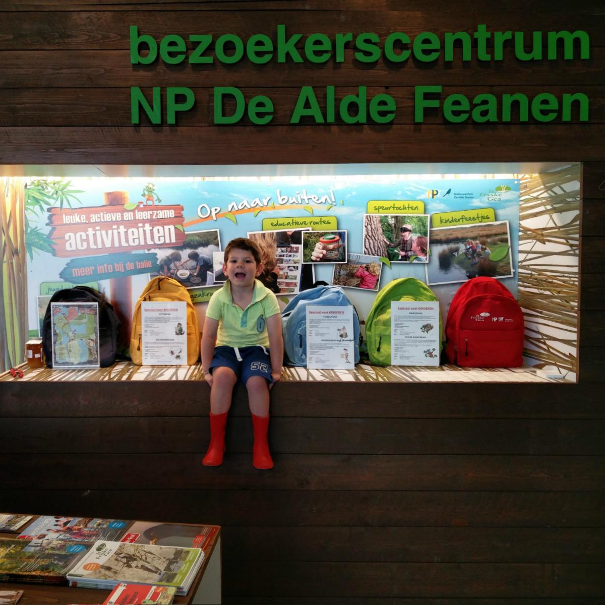 Nationaal Park de Alde Feanen met kinderen