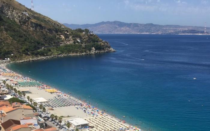 Strand in Zuid-Italië