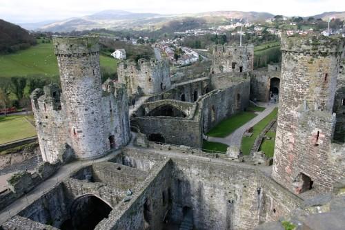 Kastelen in Wales met kinderen