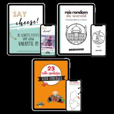 Gratis doe-boeken op reis met kinderen