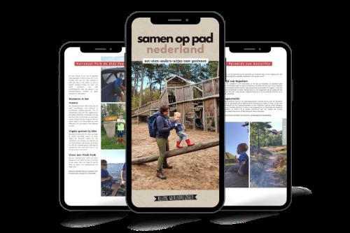 E-book leuke uitjes in Nederland met kinderen