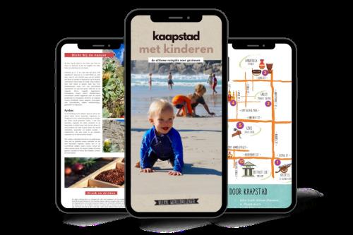 E-book Reisgids Kaapstad met kinderen