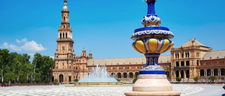 Fieten langs de highlights van Sevilla