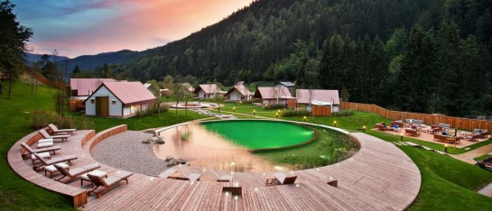 Glamping in Slovenië met kinderen