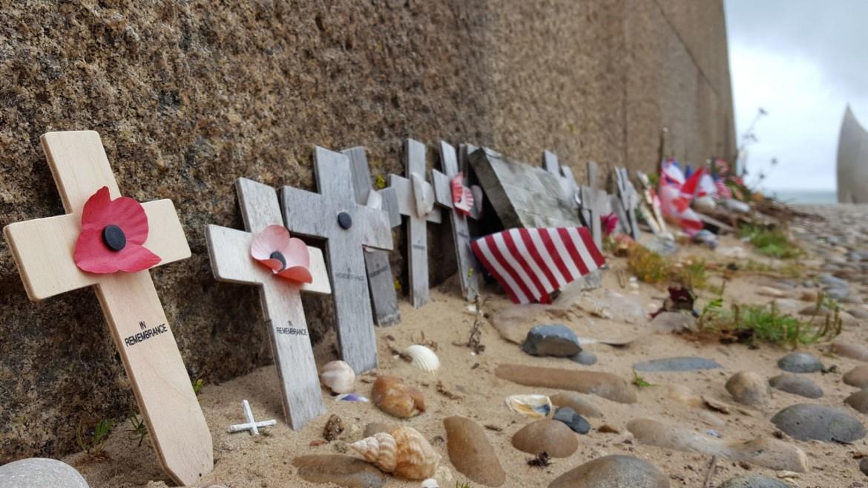 Herdenkingsmonument bij Juno Beach
