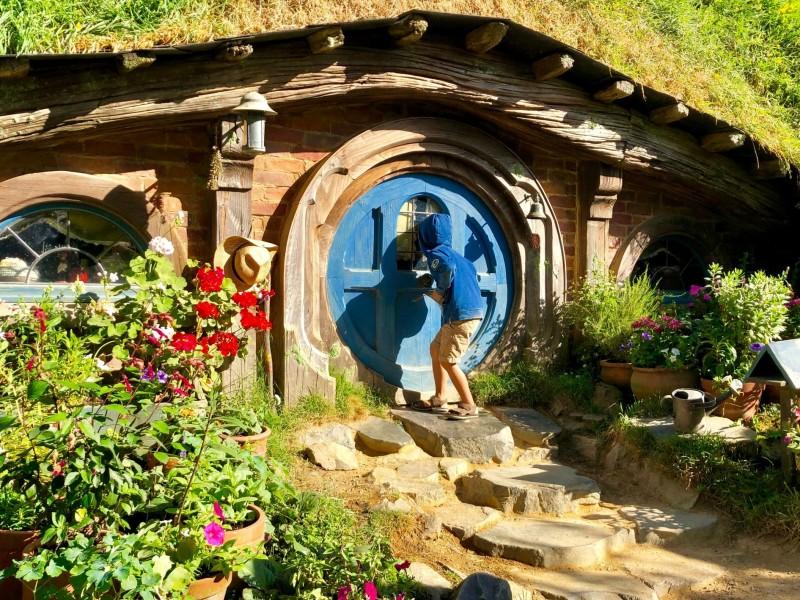 Nieuw-Zeeland met kinderen: Hobbiton en Rotorua
