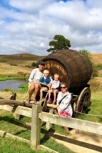 Rondreis Nieuw-Zeeland met gezin