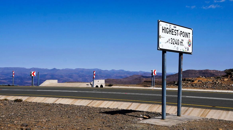 Wat is het hoogste punt van Lesotho
