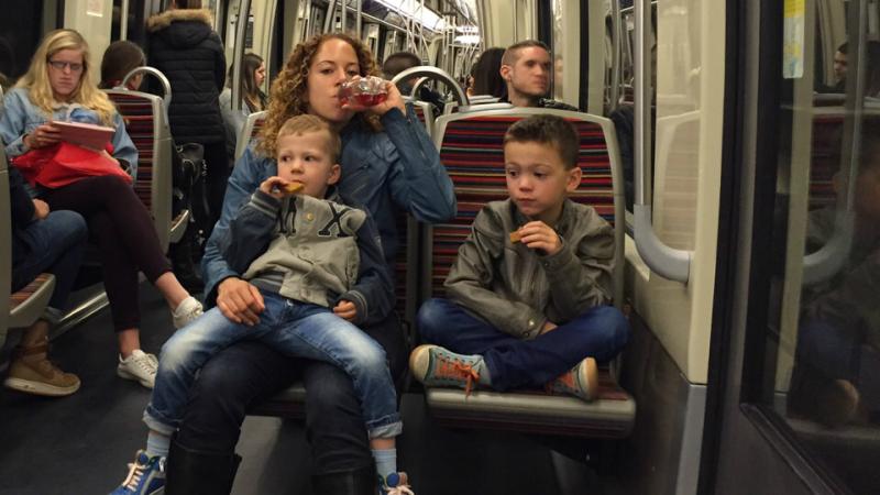 Is de metro in Parijs handig met kinderen?
