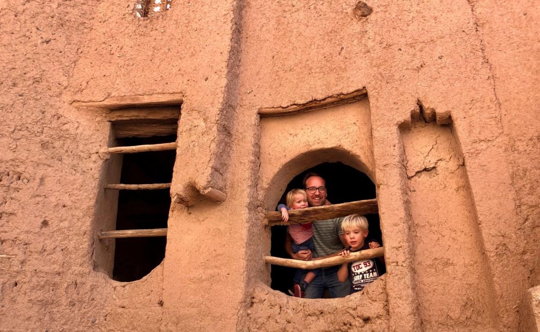 Marokko met gezin